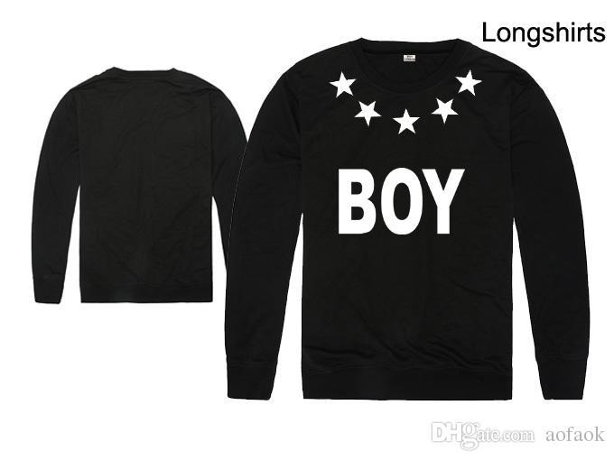Free shipping Big discount boy london design long sleeve t-shirt letter print tee shirt bigbang lovers tshirt