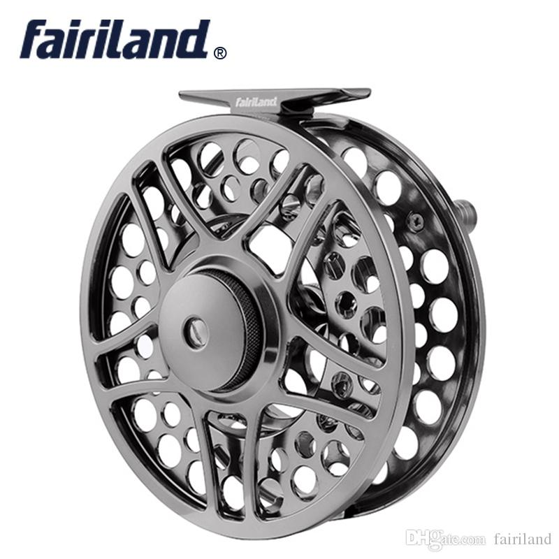 9/11 110mm/4.33in 2BB+1RB PRECISION Machined fly reel ALUMINUM fly fishing reel metal ice wheel for big game player fishing tackle