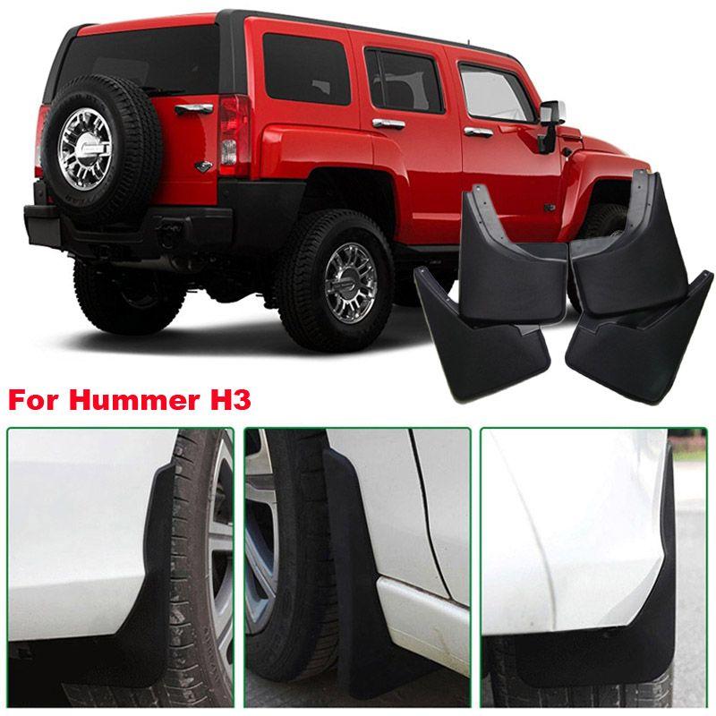 Per Hummer H3 Brand New 4 pezzi di alta qualità ABS parafango paraspruzzi parafango auto parafango
