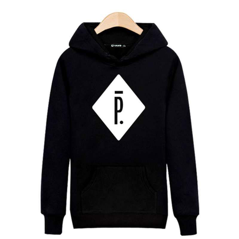 Großhandel - Pigalle Harajuku Sweatshirt schwarz für Straße tragen Hoodies Männer Luxus Ray 3XL