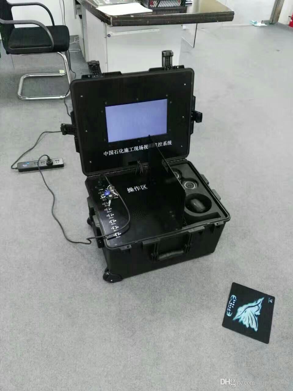 caja de instrumentos 2608 dimensión externa 570 * 418 * 228 mm Caja de equipo de seguridad a prueba de agua Caja a prueba de polvo con forro de espuma precortada