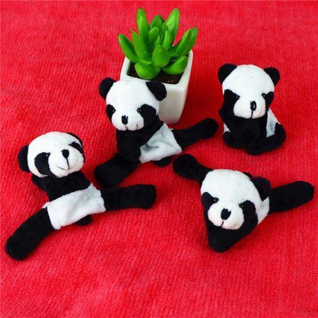 Styling creativo, bambola in peluche panda, magnete, clip frigo, clip doll, souvenir speciale per il turismo di Chengdu