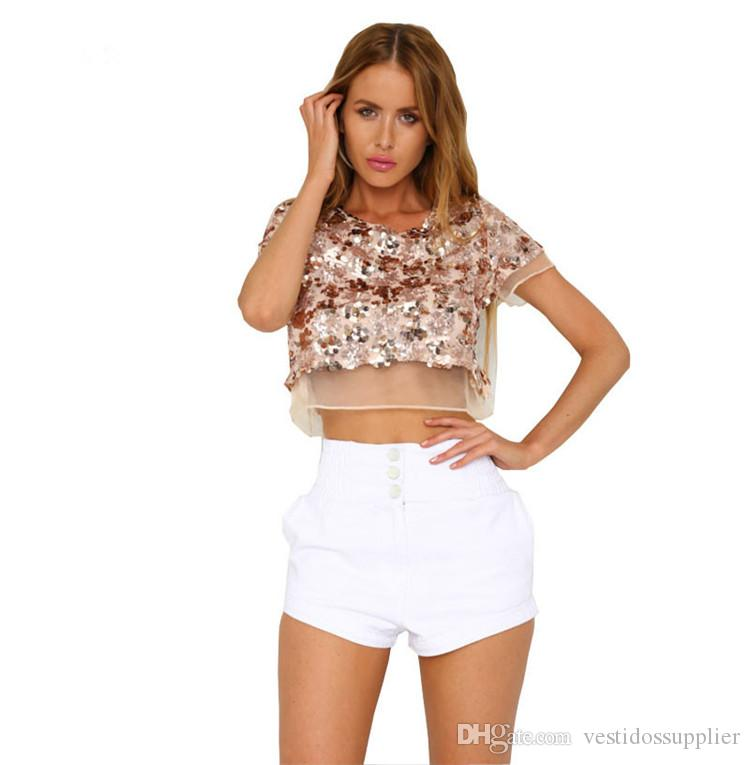 Sexy Cropped Tops for Cheap