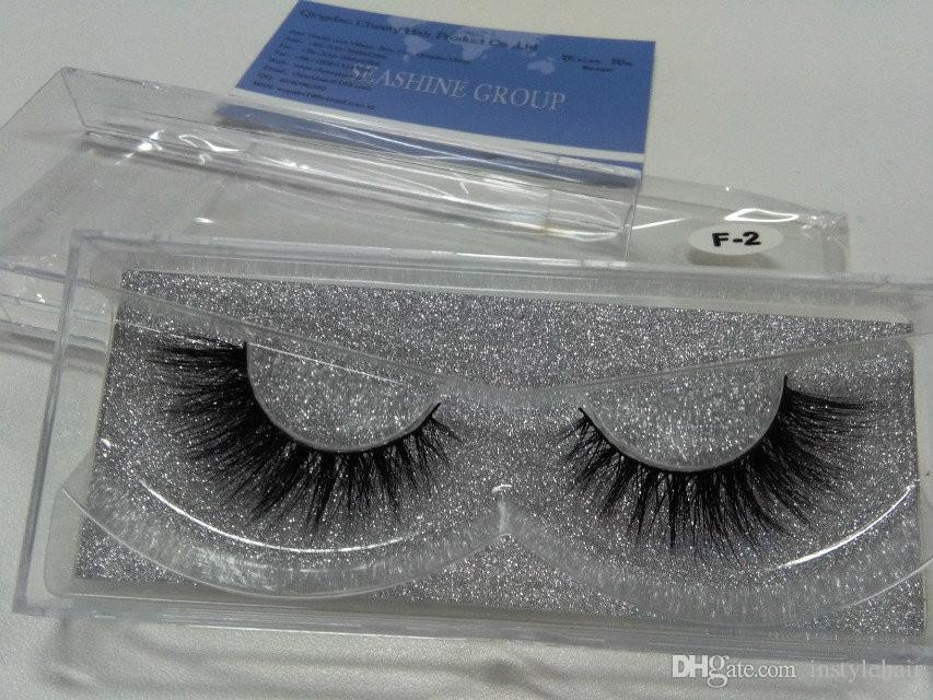 5PARIS Prim 3D Lashes Miami 100% Gerçek Sibirya Vizon Şerit Kirpik 3D Vizon Kirpikleri ÜCRETSIZ Kargo