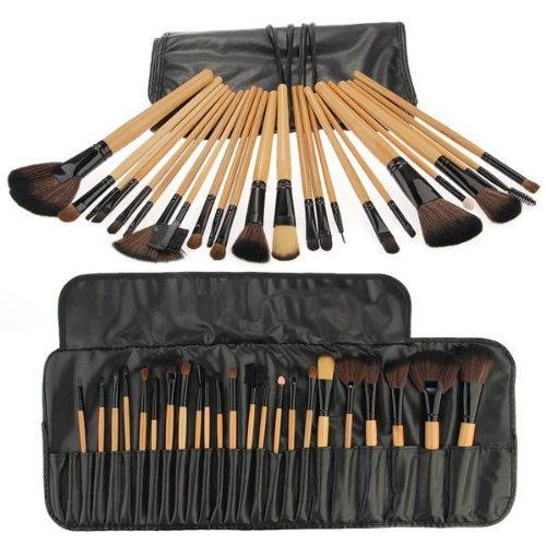 24 Pinceles de maquillaje profesional Maquillaje Kit de cosméticos Set de maquillaje Pinceles Herramientas Herramientas de maquillaje Accesorios Belleza Esenciales