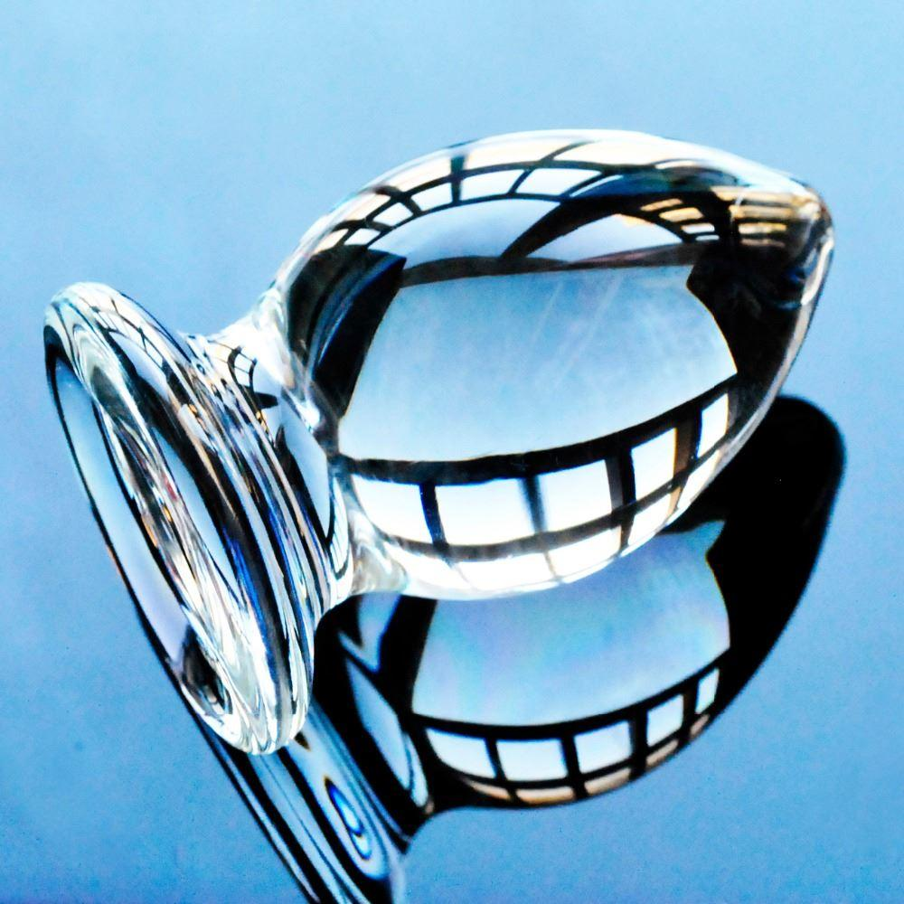 Pene Pyrex anale tappo anale tappo in vetro donne perline cristallo vagina spesso maschio sesso maskturbator adulto giocattoli per adulti giocattoli palla uomini dildo per gay 17308 GRRJT