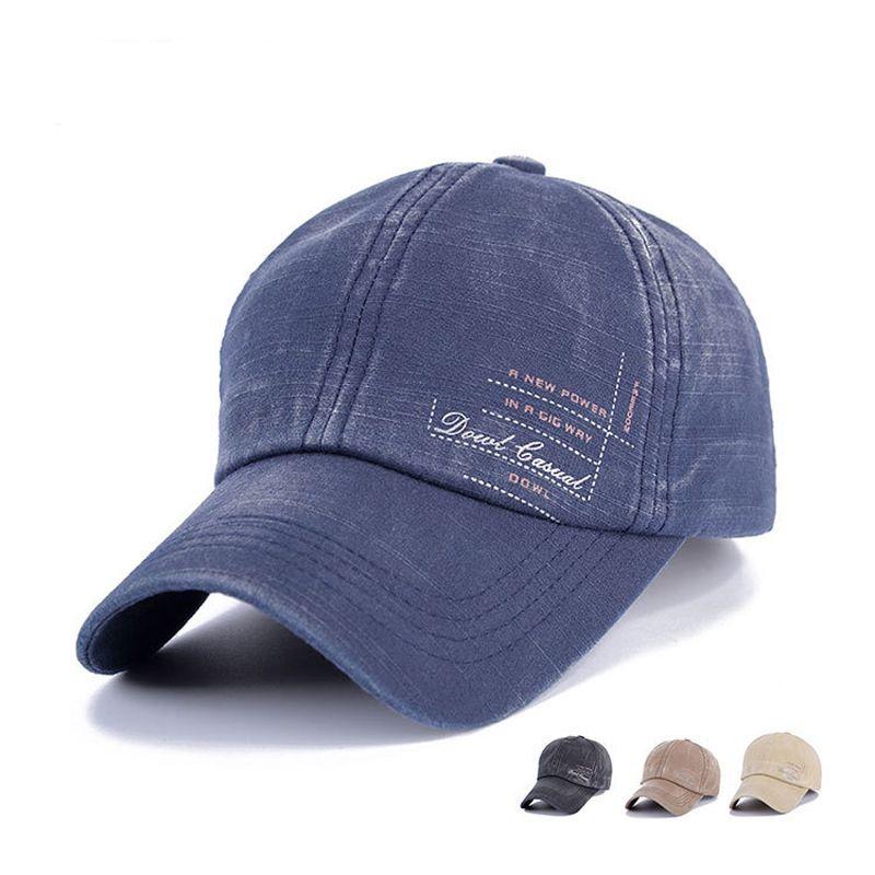 لربيع وصيف القطن الرجال سنببك للتعديل قبعة بيسبول في الغولف قناع قبعة الشاطئ السفر الشمس قبعة عارضة التقط ظهورهم قبة كاب GH-75