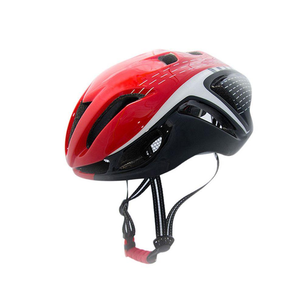 Casques de vélo pour Hommes Femmes Casque Montagne Vélo de Route Intégralement Moulé Cyclisme Casques Réglable 56-62 cm