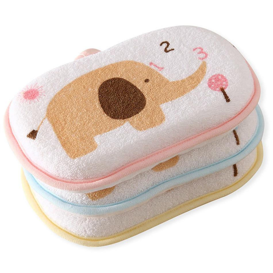 Toptan-Bebek Banyo Fırçası Duş Sünger Pamuk Sürtünme Vücut Banyosu Fırçalar Süngerleri RUB Yıkama Havlu Aksesuarları