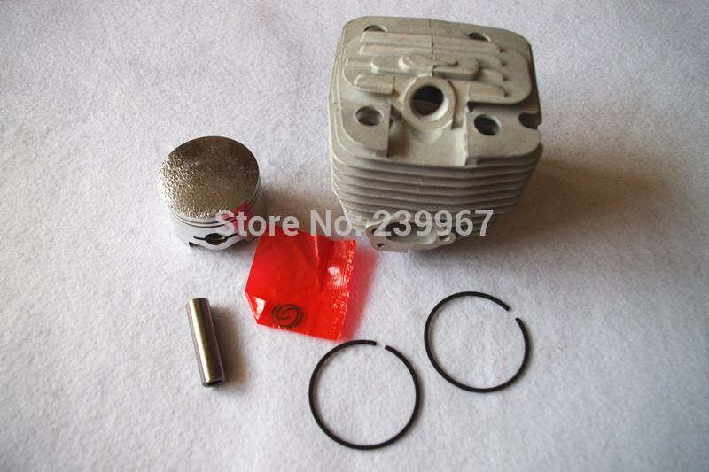 Cylinder w/ piston assy 47.5mm fits Zenoah G621 G621AVS 62CC 61.5CC Chainsaw free shipping Cylinder piston kit chain saw parts