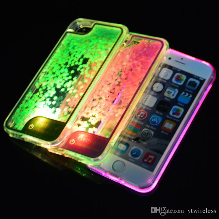 cover iphone 7 plus led
