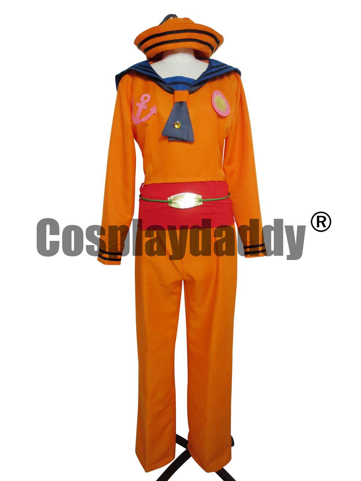 JoJo странные приключения Josuke косплей костюм партия (Сейлор) форма