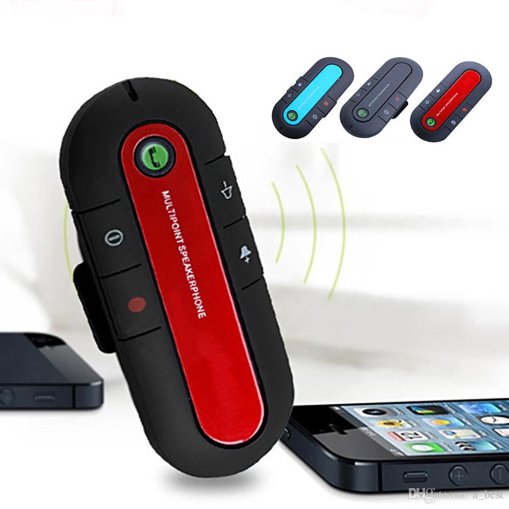 Trasmettitore del giocatore Car Kit vivavoce Bluetooth FM MP3 con USB Charger cintura di tensione della clip display micro SD TF di musica Playing
