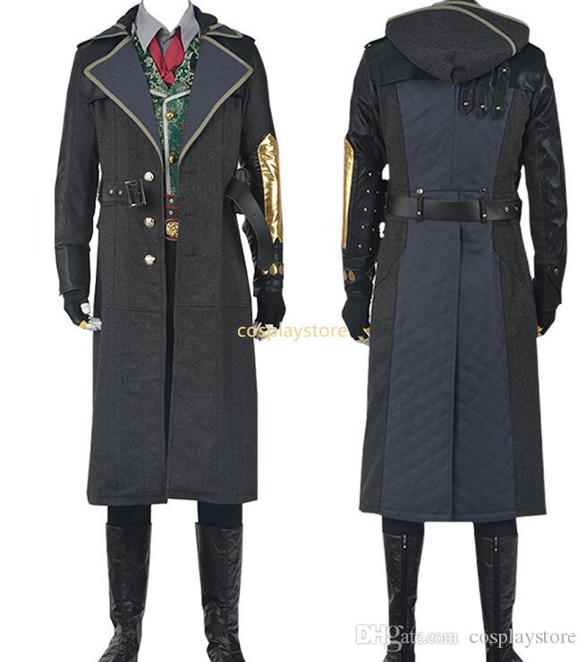Assassins Creed Costume Syndicate Jacob Frye Costume Halloween