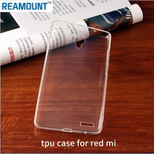 Großhandels-TPU-Kasten für MI 5S PLUS umkleidet transparentes Telefon-Oberteil für ROTES MI 3 4 ANMERKUNG 4 Anti-Schlag-Handy-Kästen