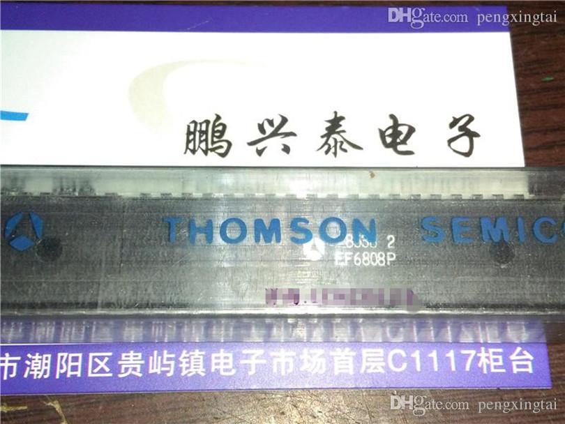 EF6808P, THOMSON integrierte Schaltung 6808. Vintage 8-Bit, Mikroprozessor. EF6808. Dual-In-Line-40-Pin-Dip / PDIP40 / Chips / IC