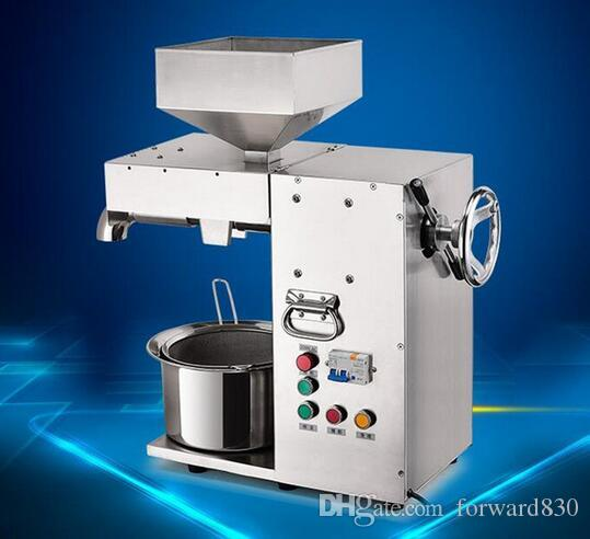 Commercial Electric Hot and Cold High Power Oil Press Machine Stainless Steel