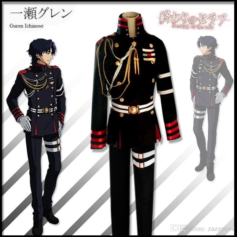 Seraph Of The End Guren Ichinose Uniform Cosplay Costume Male Cosplay  Costume Anime Cosplay For Men From Zazzycos, $61.93