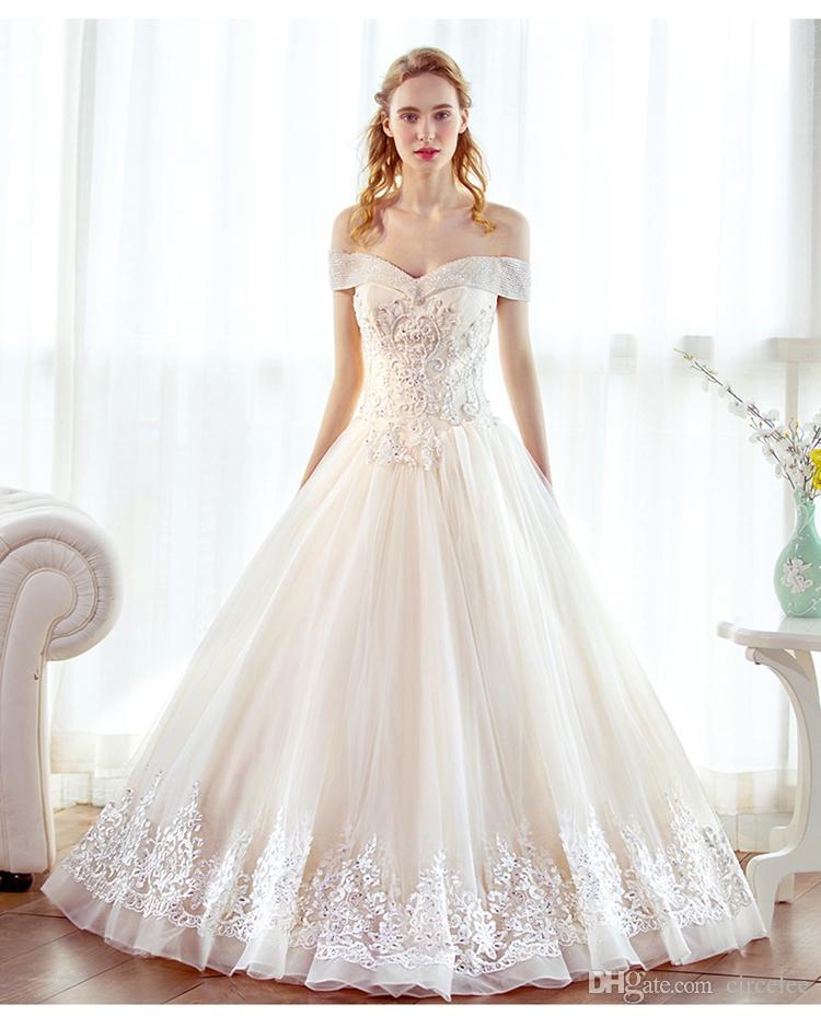 Großhandel Schatz A Line Brautkleider Vintage Elegante Prinzessin ...