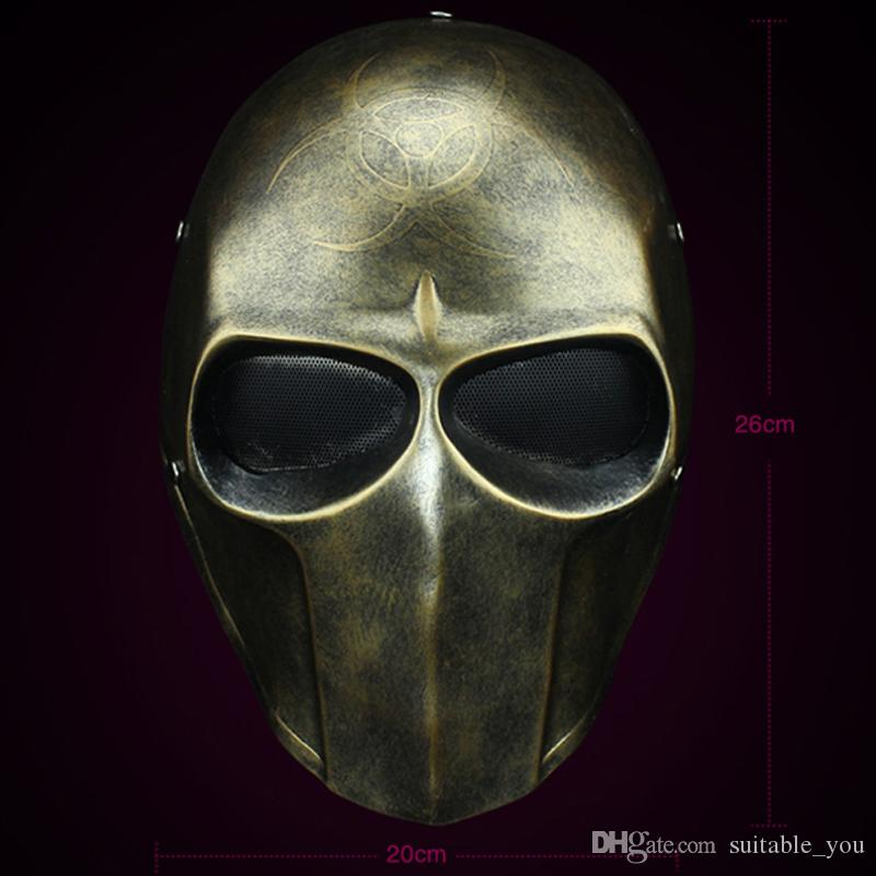 1PCS Resident Evil Knell Mask Maschere per feste in resina di alta qualità per decorazioni o collezioni per feste