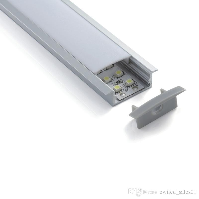 10 X 1M sets/lot factory wholesaler led aluminum profile and T channel extrusion profile for ceiling or wall lamps
