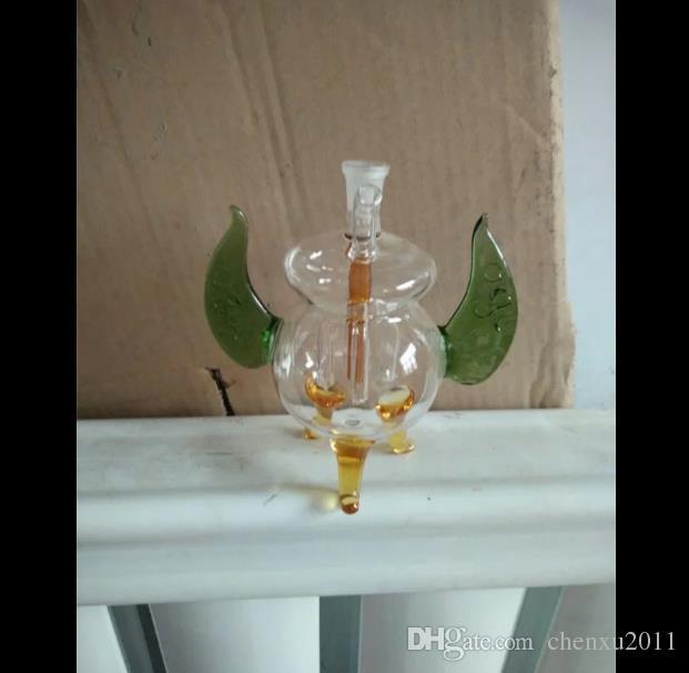 Pote de narguilé de elefante, Queimador de óleo Tubos de vidro Tubos de água Tubulação de vidro Plataformas de petróleo Fumando com conta-gotas Bongos de vidro