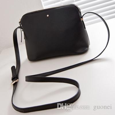 Бренд Женский Messenger Винтажные сумки дизайнер женские плечо маленькая кожаная сумка дизайнер мода кросс-тело сумки сумки раковины вскользь w tvqm