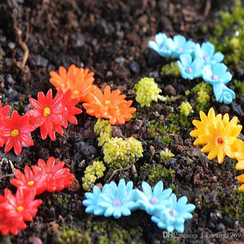 Cobble Stone Miniature Dollhouse Ornament Flower Pot Plant Craft 1 Bag A