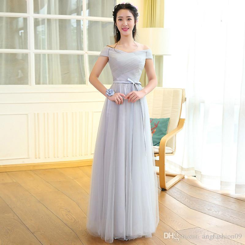 Gray Color 6 Patterns Size Us2 Us8 New Fashion Women Wedding ...