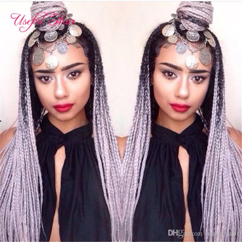 Großhandel JUMBO BRAIDS MARLEY Zöpfe Premium 24inch SYNTHETIC Flechten Haar Ombre Farbe Haarverlängerungen häkeln Zöpfe Haar für Frauen US, UK