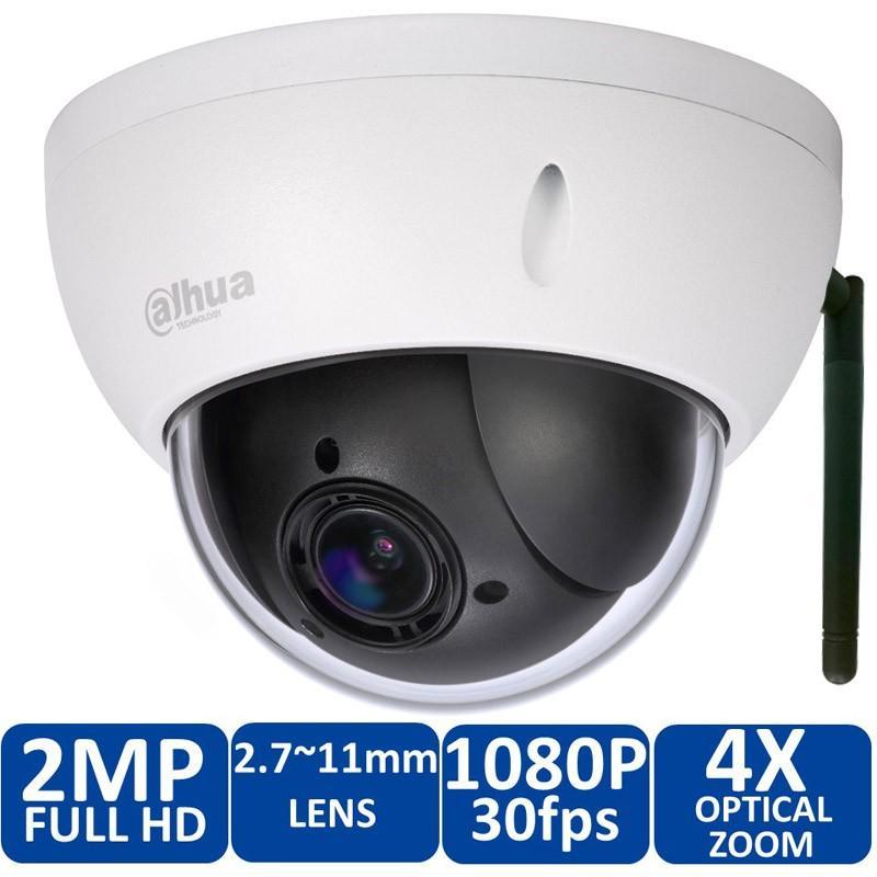 Original Dahua DH-SD22204T-GN-W Onvif 2.0 Megapixel IR Pan Tilt Dome Outdoor IP Wireless WIFI IP Camera SD22204T-GN-W free power