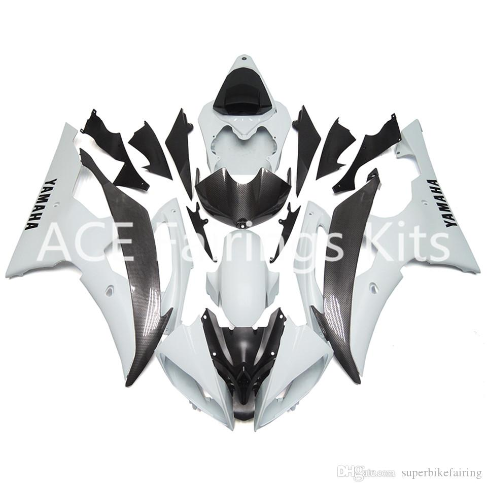 3 gift New Fairings For Yamaha YZF-R6 YZF600 R6 08 15 R6 2008-2015 ABS Plastic Bodywork Motorcycle Fairing Kit White Black