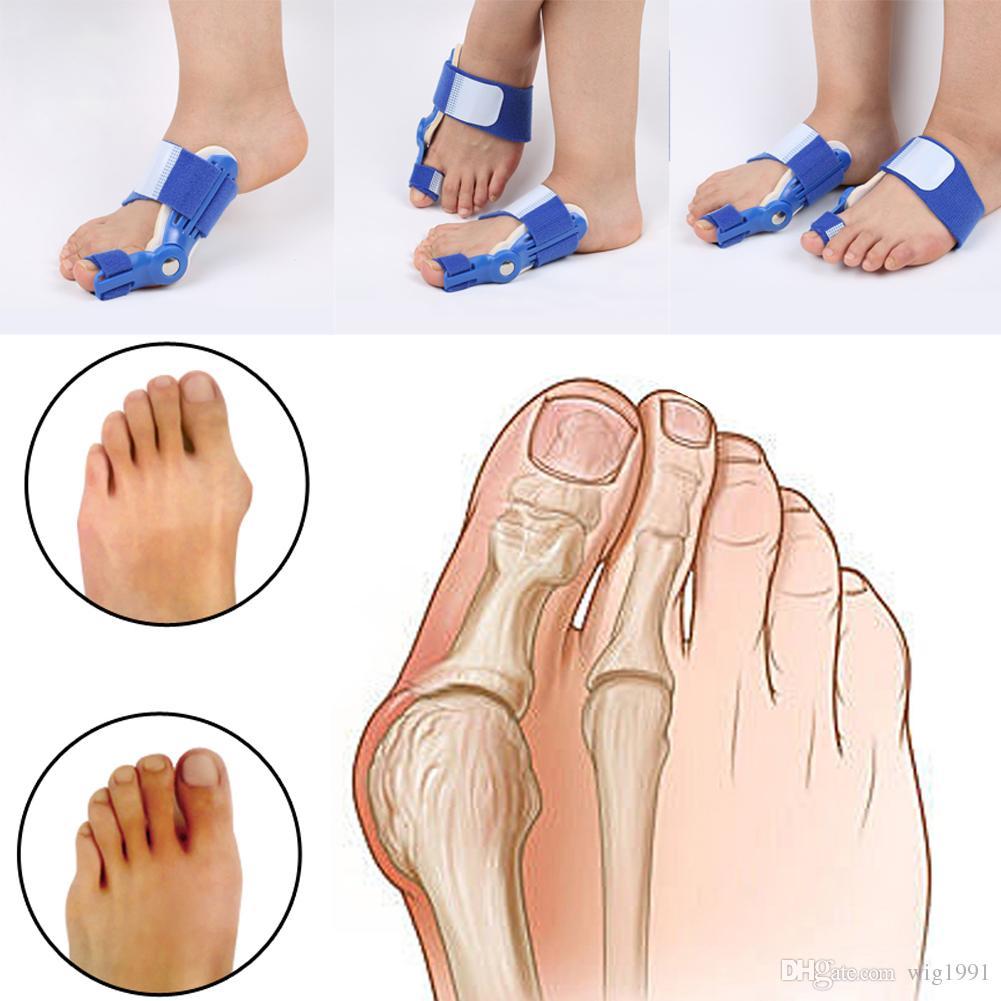 1 Stück Hallux Valgus Orthesen Big Toe Corrector Fußschmerzen Relief Füße Schutz Pflege Knochen Korrigierende Bunion Nacht Tag Splint Glätteisen