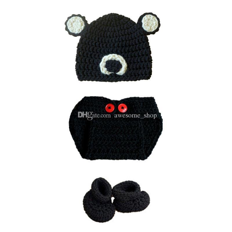 Crochet PATTERN - Crochet Teddy Bear Hat Pattern | Crochet hat ... | 800x800