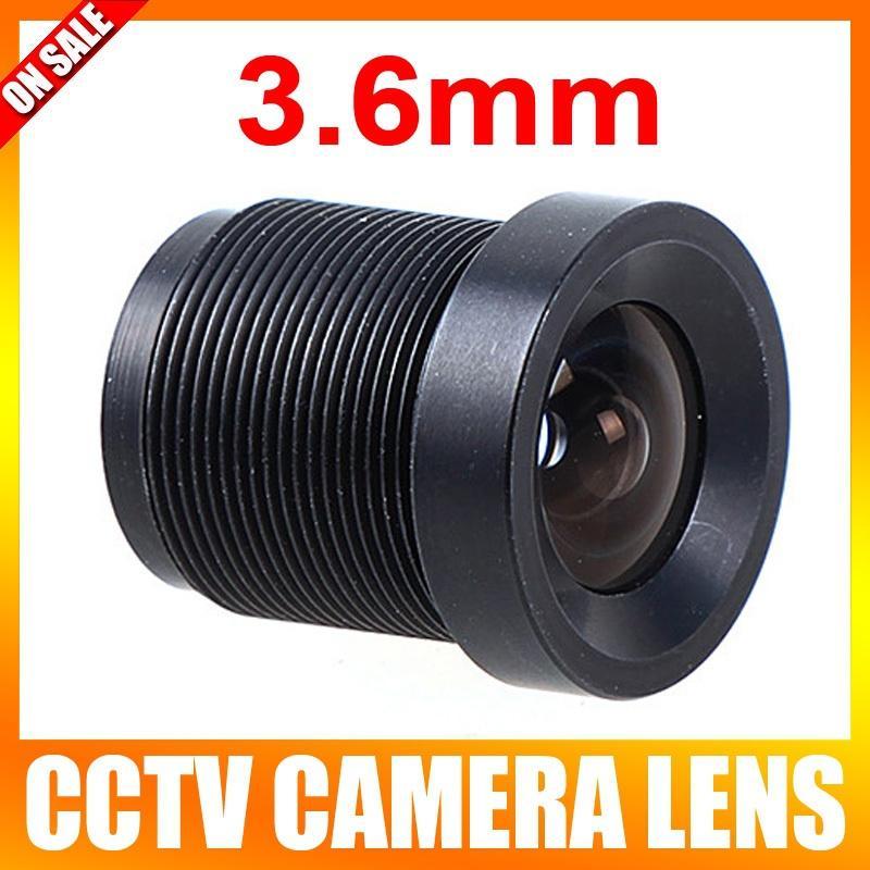 Lentille de 3.6mm pour caméra de vidéosurveillance
