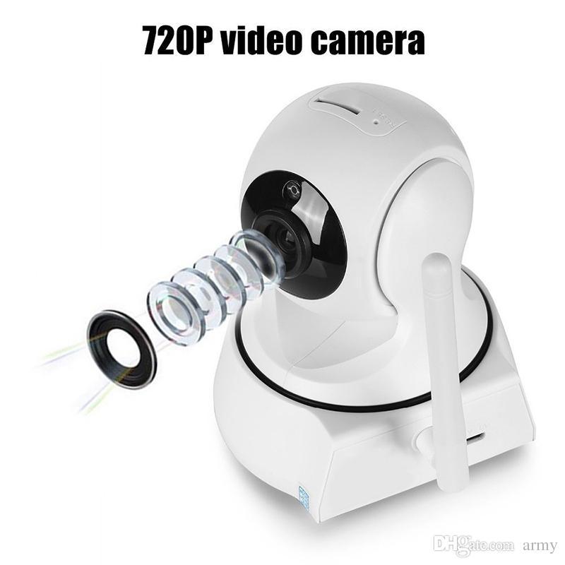 Videocamera per videosorveglianza CCTV wireless 720P di visione notturna per videosorveglianza wireless di sicurezza domestica più recente