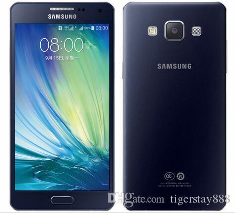 Original Samsung Galaxy A5 A5000 / A500F celular 2 GB RAM 16 GB ROM 5 polegadas 4G LTE Octa Core 13MP Câmera Android remodelado celular