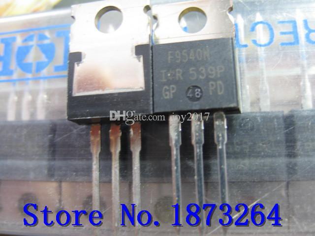 Livraison gratuite F9540N IRF9540 IRF9540N IRF9540NPBF IRF9540NPB TO220 Nouveau et original 50PCS / LOT
