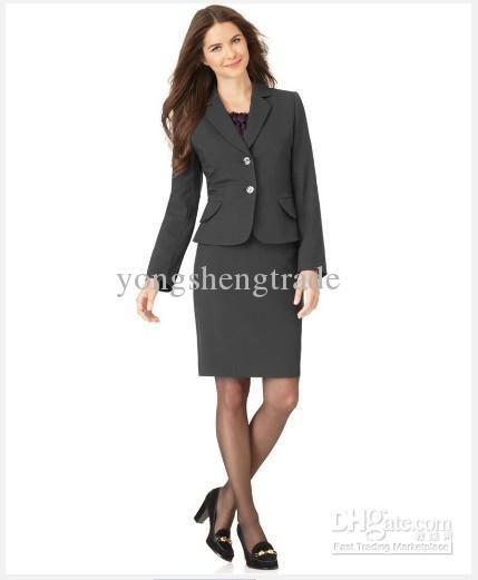 5763ea9e7f Acquista Abiti Da Donna Abbigliamento Donna Tailleur Giacca Manica Lunga  Gonna Tubino Abito Da Donna Nero A $88.85 Dal Yongshengtrade | DHgate.Com