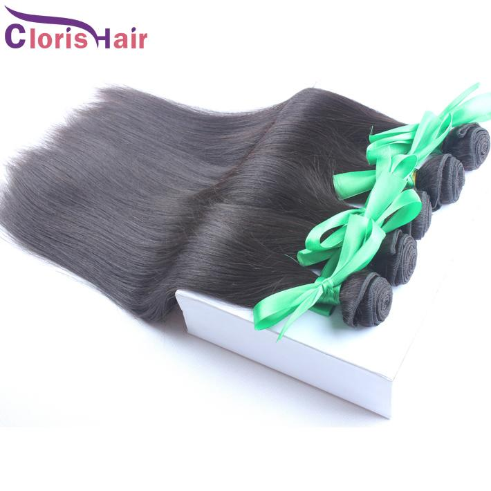 Fast Shipping 1 Bundle Silky Straight Unprocessed Raw Indian Virgin Human Hair Weave Cheap Indian Hair Extensions Ombre Dip Dye DIY,100g/pcs