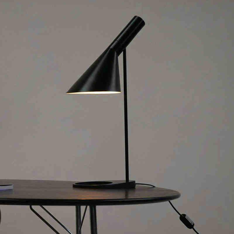 Grosshandel Modern Nordic Lustres Aj Tischleuchte Wohnzimmer Schlafzimmer Nachttischlampe Home Dekorative Leuchte Luminiare E27 Von