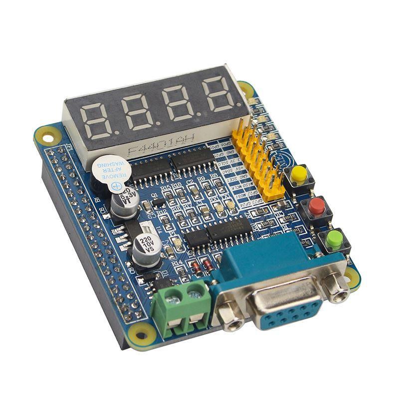 Freeshipping Raspberry Pi 3 GPIO-232 Expansion Board LED Nixie Tube 485 232 UART Keys Multifunction GPIO Extension Board for Raspberry Pi
