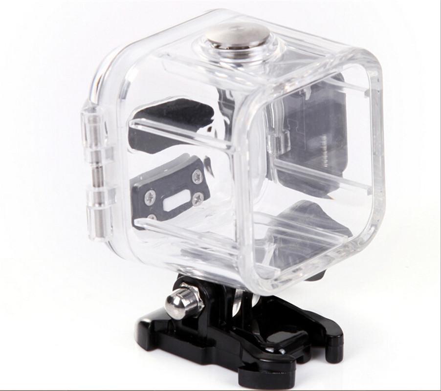 Unterwasser 45m wasserdichtes Schutzgehäuse Hülle Rahmen Basis für GoPro Hero 4 Session Outdoor Sport Kamera MOQ: 10PCS