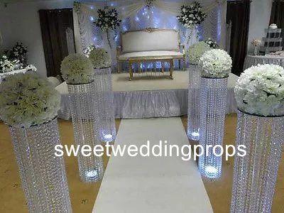 Neue heiße Metallvase Hochzeit / Hochzeit Herzstück Vasen / Metallvasen für Mittelstücke