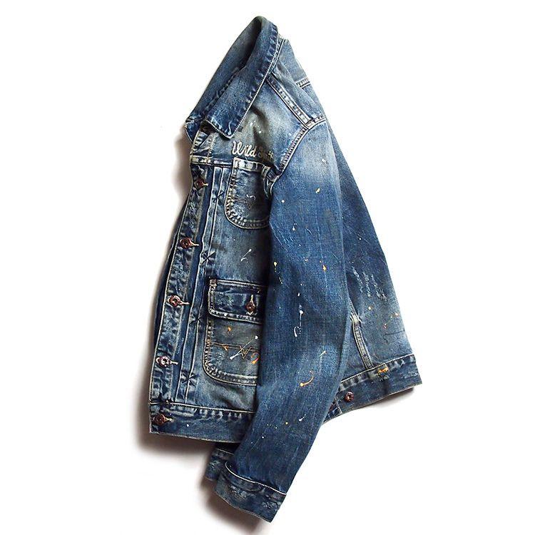Causal Men's Embroidery Vintage Cotton Jackets Washed Paint Denim Coat Famous Brand Designer Hiphop Rock Male Outerwear Jackets DS01