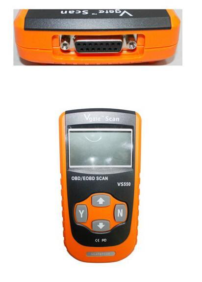 Outil de balayage superbe VS 550 de moteur vivant d'OEMD OBD2 OBDI2 d'OEM de scanner de Vgate VS550 original