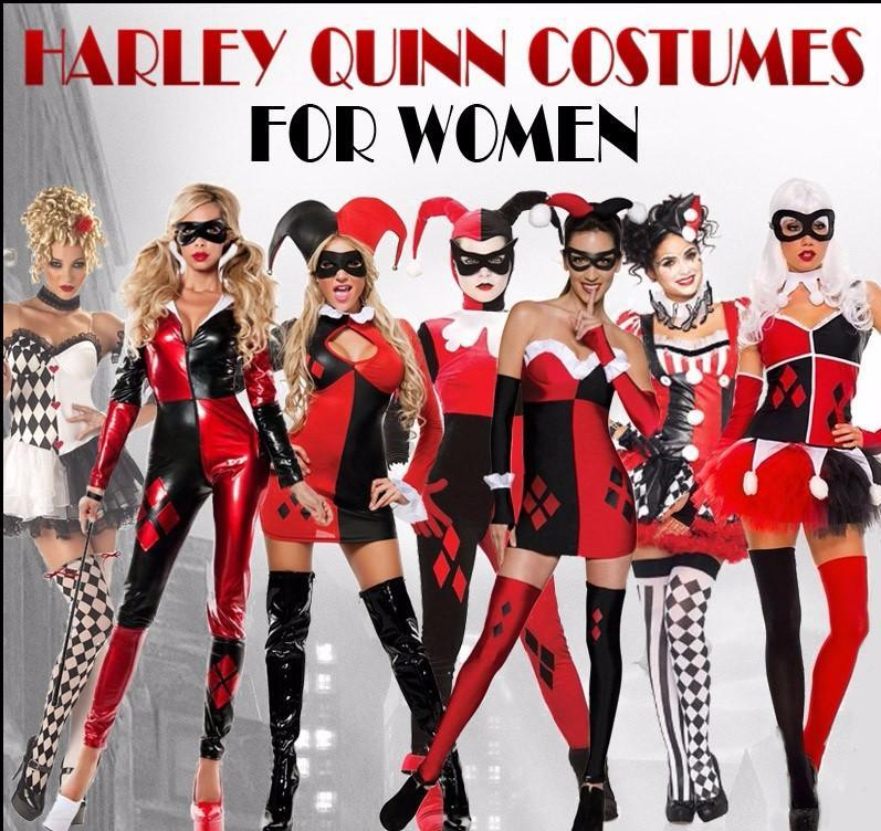 Harley Quinn Costumes Women