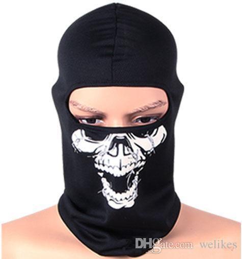 Skull Scarf full face towel Turban Function Bandana Ski Sport Motorcycle Biker Scarf Cycling Equipment Cycling Masks Seamless Head