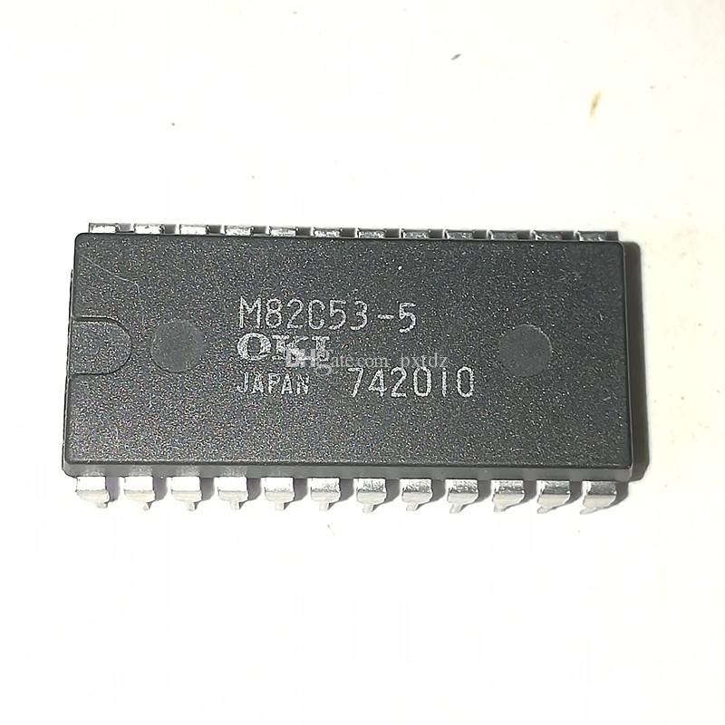 M82C53-5. M82C53-2 / MSM82C53 듀얼 인라인 24 핀 플라스틱 패키지. PDIP24 / PROGRAMMABLE TIMER 집적 회로 IC, OKI 부품