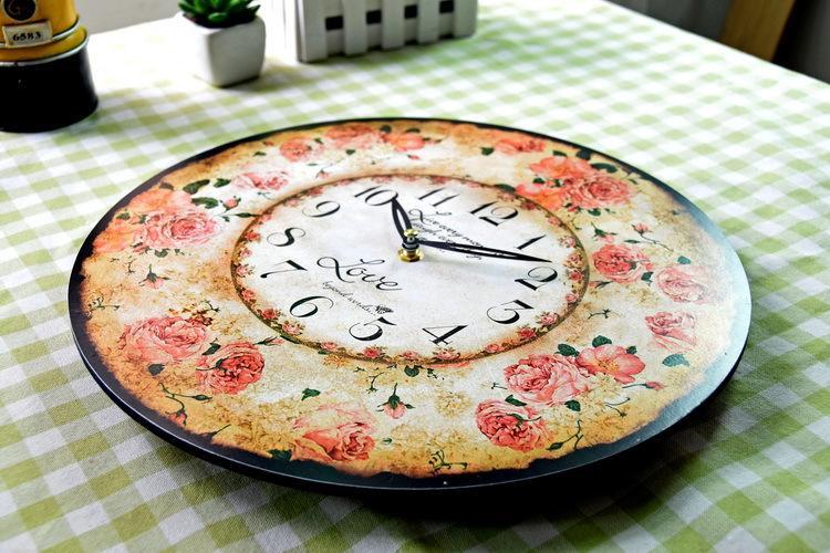 Настенные часы романтические розы купить доставка цветов апатиты